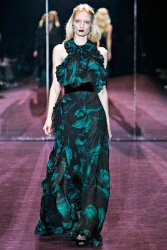 Gucci Fall 2012 Ready-to-Wear Fashion Show - Melissa Tammerijn