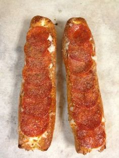Two thumbs up for the pepperoni melt at the Philly Pretzel Factory.  (We're lucky enough to have one right next door to Cigar Box in Saint Clair)!