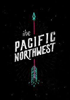 The Pacific Northwest Art Print