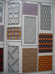 "Photo from album ""Machine Knitting Stitches"" on Yandex. Knitting Paterns, Knitting Machine Patterns, Knitting Charts, Knitting Designs, Knitting Stitches, Hand Knitting, Crochet Chart, Filet Crochet, Card Patterns"