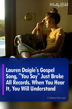 Lauren Daigle's Christian music elevates the genre Music Sing, Gospel Music, Listening To Music, Singing, Saddest Songs, Best Songs, Awesome Songs, Men Aint Shit, Lauren Daigle