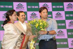 Function in Pune to felicitate Sachin Tendulkar on his achievement.
