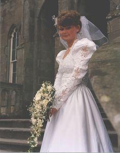 https://flic.kr/p/xKHMTr | Our Wedding 1990 Bride 07