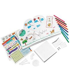 such a great gift idea - make your own pop-up book kit!