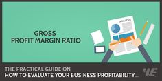 Gross Profit Margin Ratio  Click to read the full article on website: https://wealthyeducation.com/gross-profit-margin-ratio/  #investing #‎stockmarket‬ ‪#‎makemoney