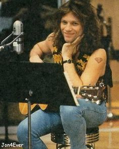 Jon Bon Jovi being adorable.