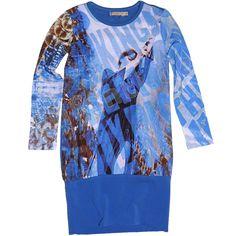 Carbone bequeme Tunika Blue Angel Blau