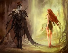 Hades and Persephone - The Olympians Fan Art (12769275) - Fanpop