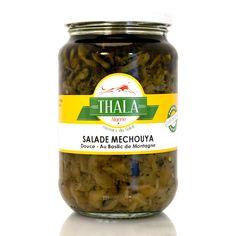 Salade mechouia douce au basilic de montagne 350g Thala®