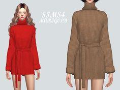 Turtleneck Mini Dress_
