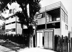 Casa Studio Diego Rivera/Frida Kahlo, Juan O Gorman 1929-30 Mexico City