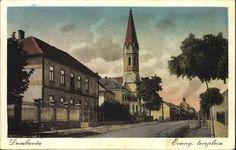 Dombóvár; Evangélikus templom, 1931.