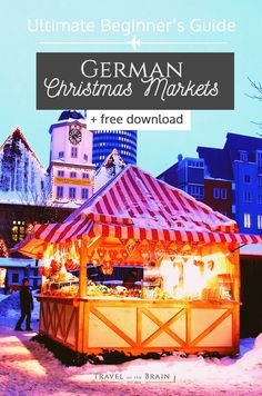 How to Have the Best German Christmas Markets Experience + free Guide - Travel on the Brain Christmas Market Stall, German Christmas Markets, Christmas Travel, Holiday Market, Christmas Vacation, Danish Christmas, Christmas Shopping, Christmas In Germany, Christmas Markets Europe