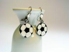 Ohrhänger - Ohrringe Fußball Finale Champions League Fan - ein Designerstück von www.Schmuckkistl.de bei DaWanda