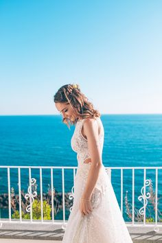 YolanCris | News | Destination wedding Italy. Babi and Rodri tie the knot in Ischia #YolanCris #DestinationWedding #Italy #Ischia #Islandweddings #YolanCris #YolanCrisbrides #altar #weddingideas #weddinginspiration #sea #Weddingideas #inspiration #bride #realbride #realwedding #bridestyle
