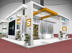 Exhibition Stall, Exhibition Stand Design, Trade Show, Exhibitions, Stage, Commercial, House, Home Decor, Log Projects