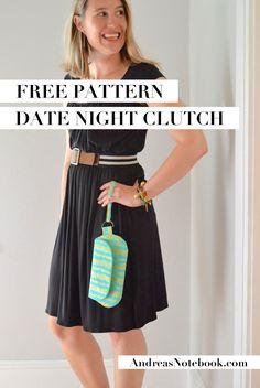 FREE Date Night Clutch pattern!
