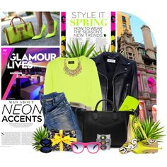 Neon Nation - Polyvore