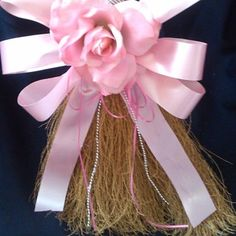 Pink Jumping Broom by K&E Bridal Consultants on Opensky