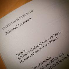 Am Anfang war das Wort... und das Wortspiel folgt ihm auf dem Fuß. #gedicht http://www.amazon.de/Bilden-Sie-einen-Satz-Dichterwettstreit/dp/3596174376