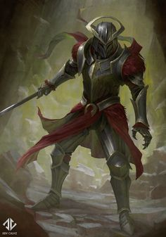ArtStation - Red Knight, Deiv Calviz More