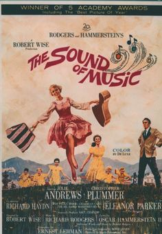The Sound of Music (1965) - Starring Julie Andrews and Christopher Plummer