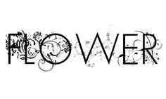 :::: PINTEREST.COM christiancross ::::  flower font