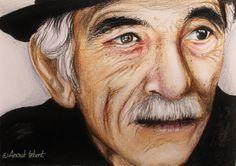 Portrait - Old Man www.facebook.com/Anouktekent