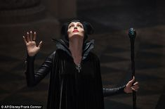 New Maleficent images from Disney's live-action take on the Sleeping Beauty villain, starring Angelina Jolie, Elle Fanning, Sam Riley, and Sharlto Copley. Watch Maleficent, Maleficent Makeup, Angelina Jolie Maleficent, Maleficent 2014, Maleficent Costume, Malificent, Maleficent Halloween, Maleficent Party, Sleeping Beauty