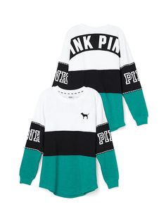 Varsity Crew - PINK - Victoria's Secret : would want this, marl black, or white/black bling