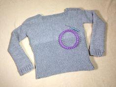 Teje un jersey con telar circular