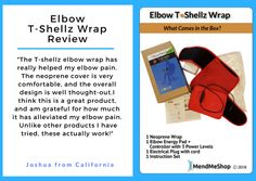 Elbow T-Shellz Wrap - effective treatment for tennis and golfer's elbow. Based on a proven electromagnetic energy concept. Join A Gym, Thermal Energy, Tennis Elbow, Deep Tissue, Well Thought Out, Injury Prevention, Golfers, Ultrasound, Help Me