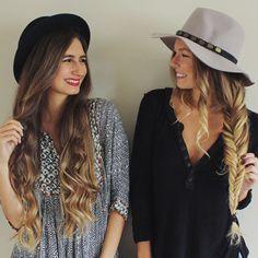 2 FP Me Girls, 2 Hair Tutorials | Free People Blog #freepeople