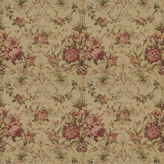 Guinevere Floral - Tea - Florals - Fabric - Products - Ralph Lauren Home - RalphLaurenHome.com