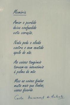 À MERCÊ DE INSPIRAÇÕES...: Carlos Drummond de Andrade