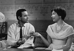"Jack Lemmon and Shirley MacLaine in Billy Wilder's ""The Apartment"""