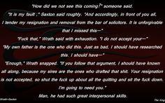 Wrath Saxton Skills BDB Black Dagger Brotherhood