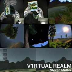 "An awesome Virtual Reality pic! #V1RTUALREALM is my ambitions #virtualreality sandbox that scales between various virtual reality headsets and ""controllers"". On the top #leapmotion and the #oculusrift bring 3d object interaction to the dynamic virtual reality space in addition to merging elements of the real world with the virtual one. The middle shows the #mobilevr version for #googlecardboard which features a continuous dynamic day to night cycle and a simple weather system. The final…"