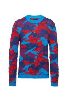 Prada, Pullover, Knitwear, Ready To Wear, Men Sweater, Sweaters, How To Wear, Fashion, Bags