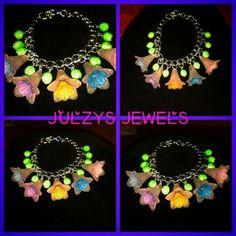Flower power summer jewellery