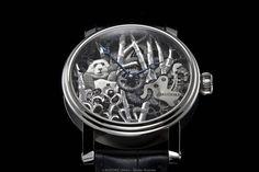 """Auf der UhrenausstellungSalon QP wird KUDOKE sein neuestes Modell """"PANDA"""" erstmalig der Öffentlichkeit präsentieren."""