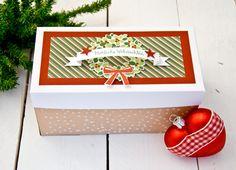 Doppel-Explosionsschachtel, Stampin' UP!, Weihnachten, Advent