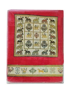 Buy Multi Color The Embroidery and Bead Work of Kutch Saurashtra by J.M. Nanavati M.P. Vora M.A. Dhaky Paper Online at Jaypore.com