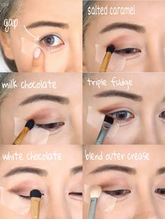 too faced all matte chocolate bar palette tutorial