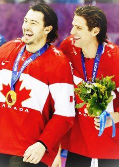 Drew Doughty and Patrick Sharp #Sochi2014