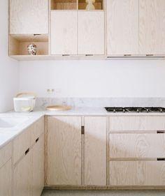 Kitchen design by Made Architects. Belguim