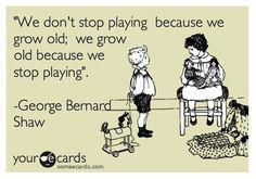 Growing old…
