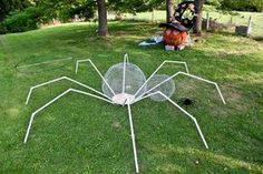 Well this week we are working on a 17-foot wide spider!Got the endoskeleton done today. Ready for some finishing!