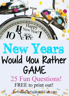 new years eve ideas and new years eve party inspiration and decor, celebrate - New Years Party New Year's Eve Games For Adults, New Years Eve Games, Kids New Years Eve, New Years Party, New Years Eve Party Ideas For Adults, New Year's Eve House Party Ideas, Ideas Party, New Year's Eve Activities, Activities For Teens