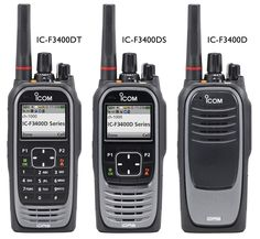 The IC-F3400/F4400D two-way radio series is available in VHF and UHF in three different formats to suit different customer requirements. • No display – IC-F3400D (VHF) /IC-F4400D (UHF) • Display with simple keypad – IC-F3400DS (VHF) /IC-F4400DS (UHF) • Display with full numeric keypad – IC-F3400DT (VHF) /IC-F4400DT (UHF) For more details about these products visit: http://icomuk.co.uk/IC-F3400_F4400D-Series/Handheld-Digital-Two-Way-Radio